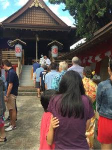 金刀比羅神社の初詣