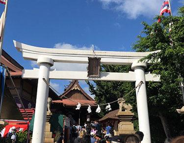 元旦の金刀比羅神社