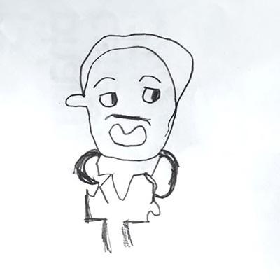 マーチンルーサーキングジュニアの絵