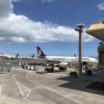ハワイアンエアー旅客機外観